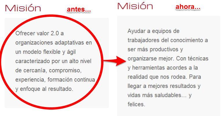 Nueva misión de Valor 2.0
