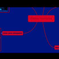 Qué son y para qué sirven los mapas mentales para abogados. Portada