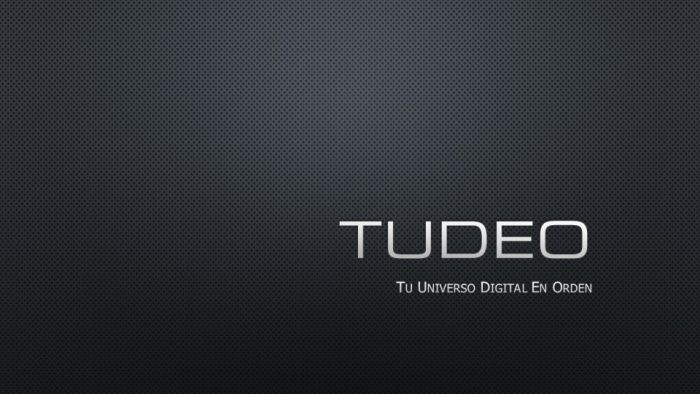 TUDEO (Tu Universo Digital En Orden)